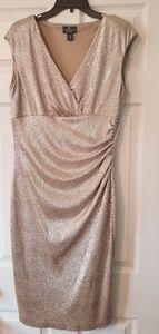 Light Gold Shimmer Dress